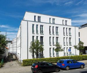 Gebäude an der Scharnhorststraße 10 (Aussenaufnahme) Foto: MünsterView / Heiner Witte